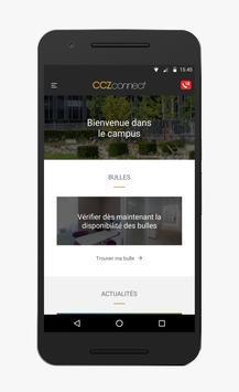 CCZ Connect App poster