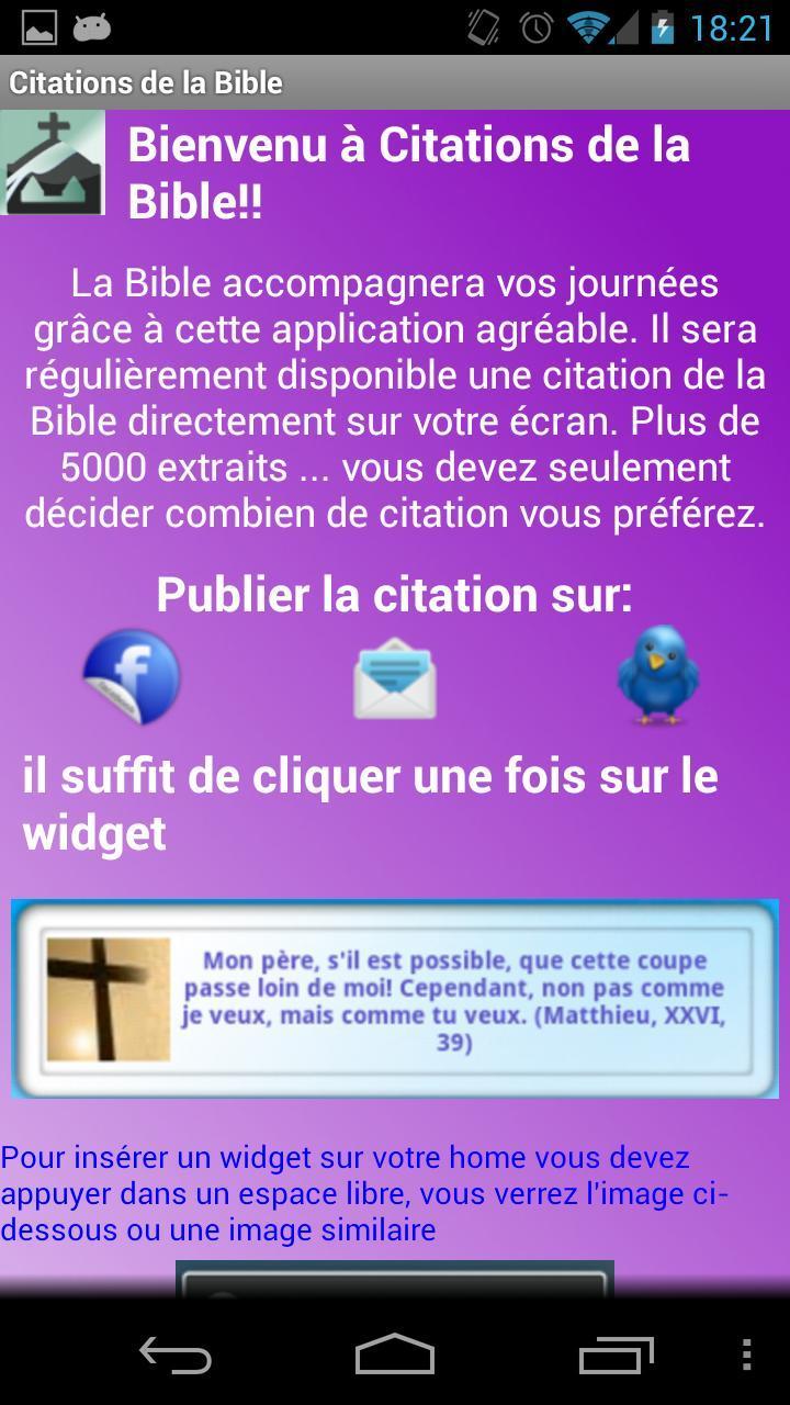 Citations De La Bible Gratuite For Android Apk Download