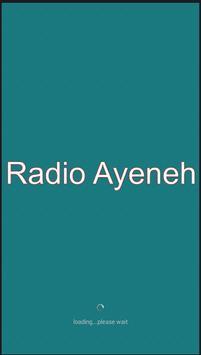 Radio Ayeneh Stockholm poster
