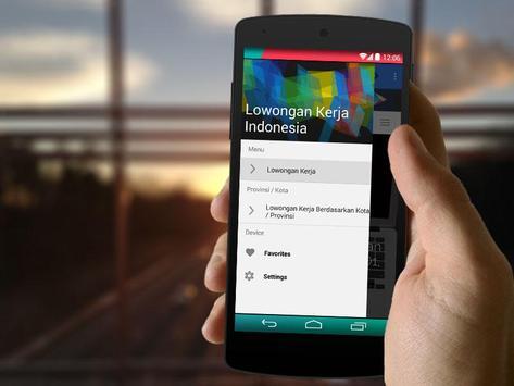 Lowongan Kerja Indonesia Baru apk screenshot