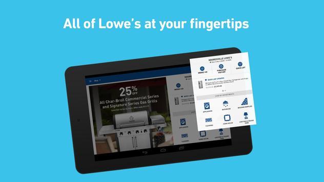 Lowe's apk screenshot
