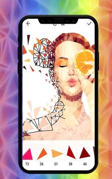 Poly Artwork Puzzle Color screenshot 2