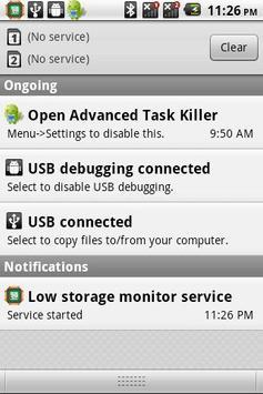 Storage monitor service poster