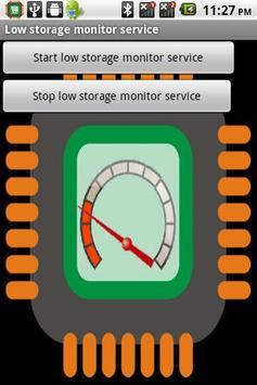 Storage monitor service screenshot 1