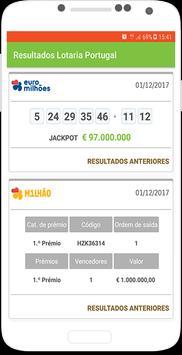 Resultados Lotaria Portugal poster