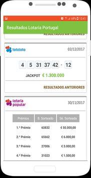 Resultados Lotaria Portugal screenshot 1