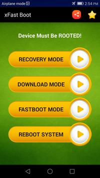 Reboot into Recovery / Download Mode - xFast screenshot 3