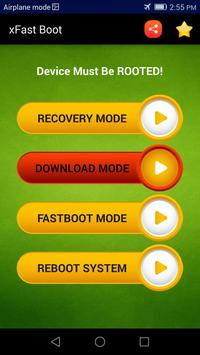 Reboot into Recovery / Download Mode - xFast screenshot 2