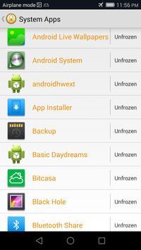 App Freeze (root) screenshot 1