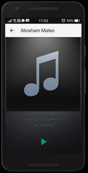 Abraham Mateo Mp3 Musica apk screenshot
