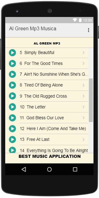 Al Green Mp3 Musica for Android - APK Download
