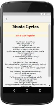 Al Green Music Lyrics apk screenshot