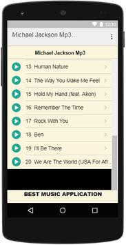 Michael Jackson Mp3 Music screenshot 2