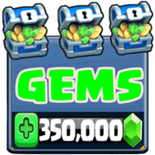Gems & Chest for Clash Royale New ikona