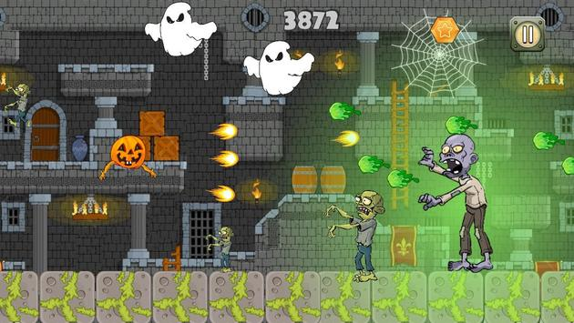 Halloween vs Zombies apk screenshot