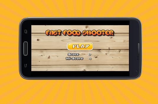 Fast Food Shooter apk screenshot