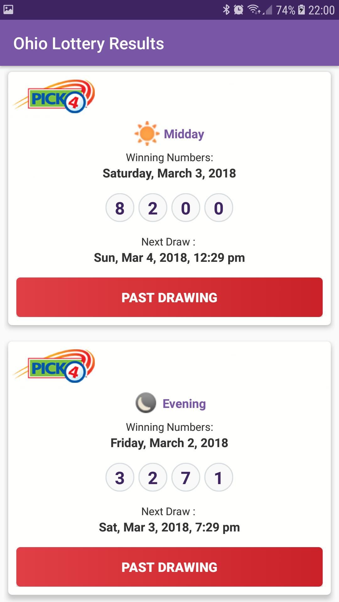 Ohio Lottery Results for Android - APK Download