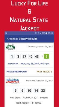 Arkansas Lottery Results screenshot 1