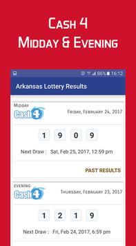 Arkansas Lottery Results screenshot 3