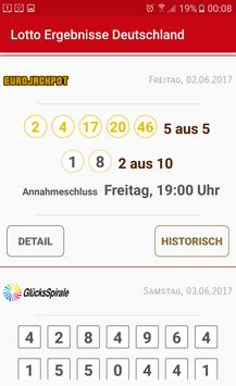 Lotto Results Germany screenshot 1