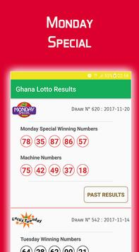 Ghana Lotto Results poster