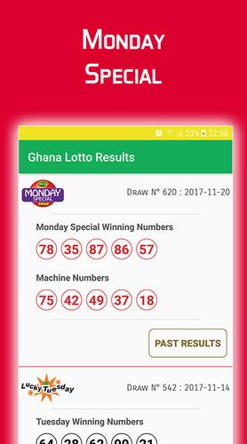 monday special ghana lotto