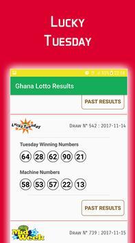 Ghana Lotto Results screenshot 1