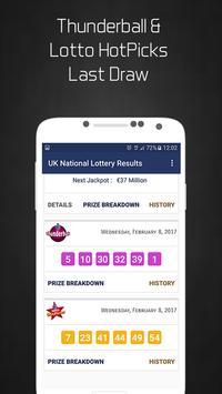 UK National Lottery Results apk screenshot