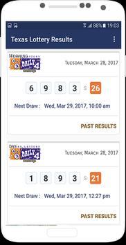 Texas Lottery Results apk screenshot