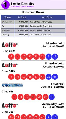 Lotto Results Australia for Android - APK Download