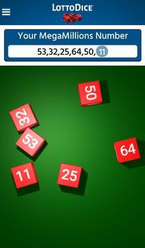Lottodice Megamillions screenshot 2