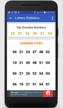 Quick Pick South Carolina Lucky Number Generator apk screenshot