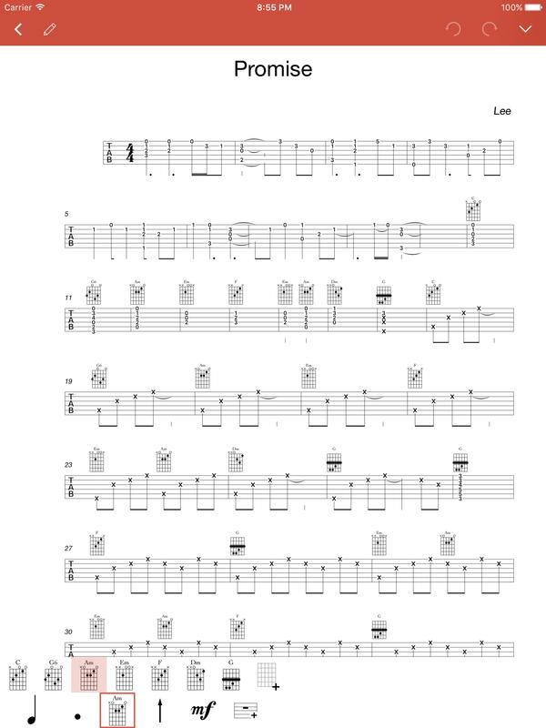 Guitar Notation - Tabs Chords APK Download - Free Music & Audio APP ...
