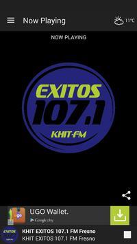 KHIT EXITOS 107.1 Fresno poster