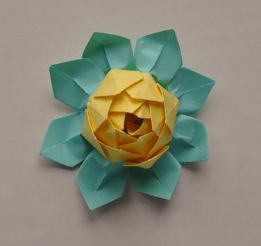 Lotus Origami Tutorials poster