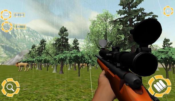 Lion Hunt 3D screenshot 6