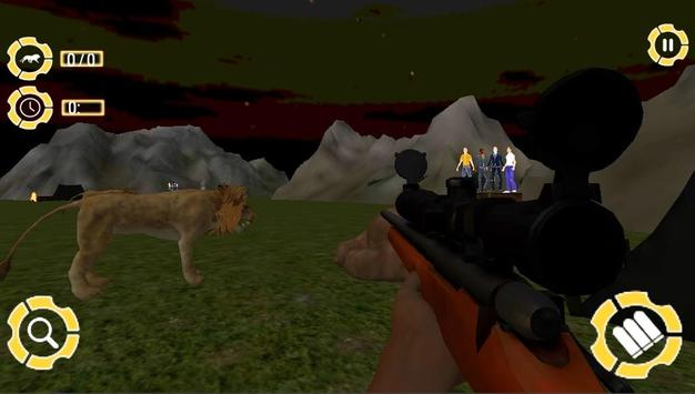 Lion Hunt 3D screenshot 3