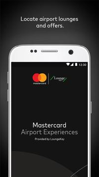 Mastercard Airport Experiences poster