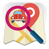 Car Finder Map icon