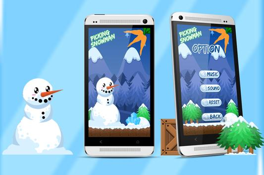 PickingSnowMan -AdventureGame apk screenshot