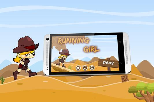 Running Girl - Game Run apk screenshot