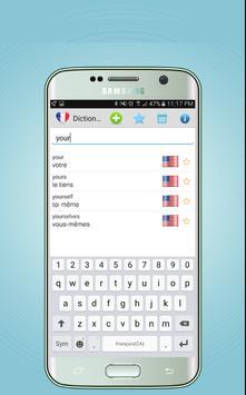 French English Dictionary - Translator poster