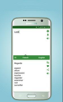 French English Dictionary - Translator screenshot 2