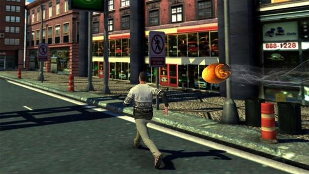 Modern city army sniper 3D poster
