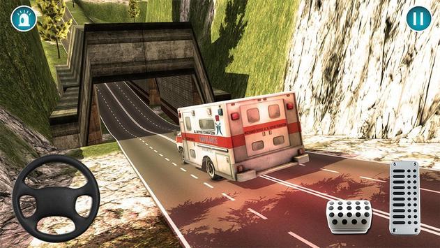 Ambulance Rescue Simulator 2018 poster