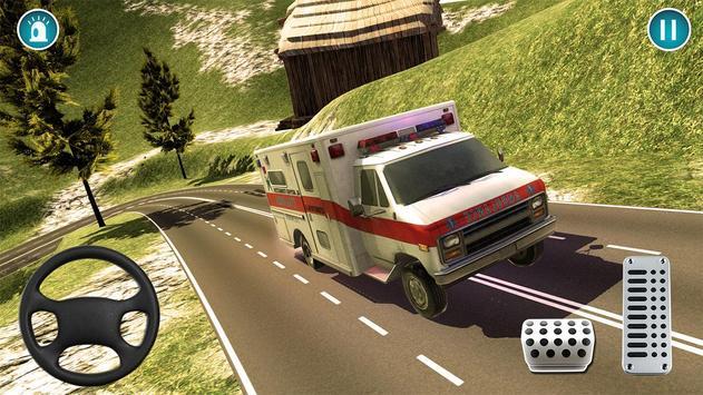 Ambulance Rescue Simulator 2018 apk screenshot