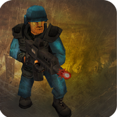 Commando on front line!! Killing with guns' game icon