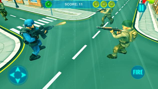 Commando on front line!! Killing with guns' game screenshot 10