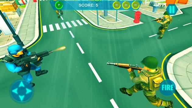 Commando on front line!! Killing with guns' game screenshot 2
