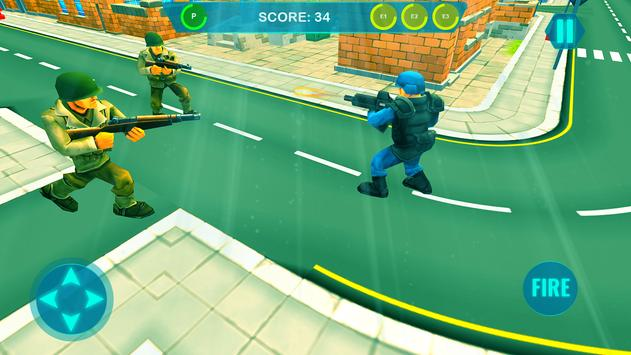 Commando on front line!! Killing with guns' game screenshot 5